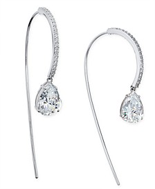 Cubic Zirconia Threader Earrings, Created for Macy's