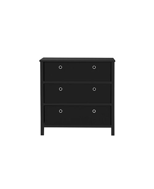 EZ Home Solutions Foldable Furniture 3 Drawer Single Dresser