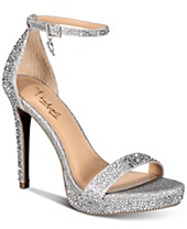 Silver Bridal Shoes And Evening Shoes Macy S