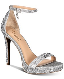 Women's Lissy Platform Evening Sandals, Created for Macy's