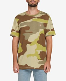 Volcom Men's Peace Squad Camo T-Shirt