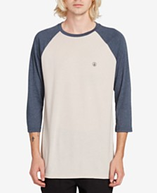 Volcom Men's Baseball T-Shirt
