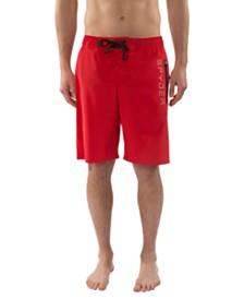Spyder Men's Stretch Swim Trunk with Laser Cut Pocket
