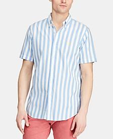 Men's Big & Tall Classic-Fit Striped Shirt