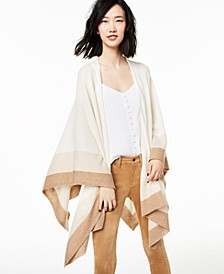 Striped Cashmere Wrap, Created for Macy's
