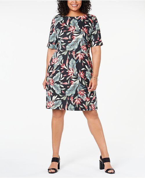 taille pourAvis Karen imprime a Robes fleuriCree Robe grande Deep Black Scott Tailles Tcl3FK1J