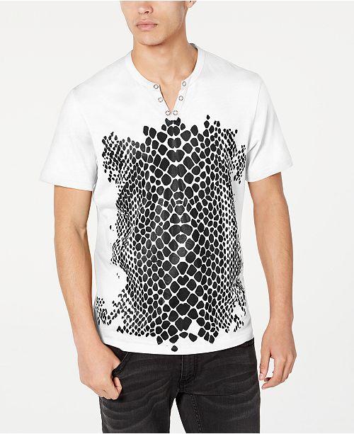 INC International Concepts INC Men's Crocodile T-Shirt, Created for Macy's