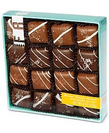 V Chocolates 32-Pc. Assorted Milk and Dark Chocolate Sea-Salt Caramels