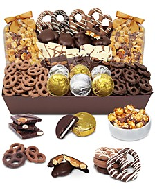 Sensational Belgian Chocolate-Covered Snack Basket