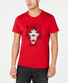 Just Cavalli Men's Tiger Graphic T-Shirt