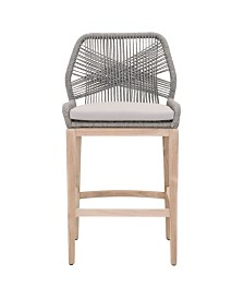 Essentials for Living Loom Outdoor Barstool