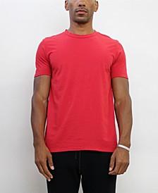 TMC001CJ Mens Cotton Jersey Short-Sleeve Basic Crew-Neck T-Shirt