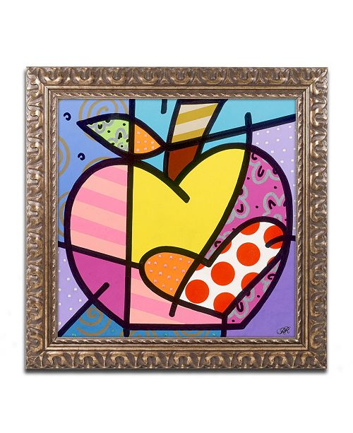 "Trademark Global Roberto Rafael 'Big Apple IV' Ornate Framed Art - 16"" x 16"""