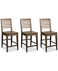 Mila Counter Stool, 3-Pc. Set (3 Counter Stools)