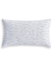 "CLOSEOUT! Locked Geo 14"" x 24"" Decorative Pillow, Created for Macy's"