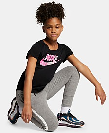 Nike Big Girls Cotton T-Shirt