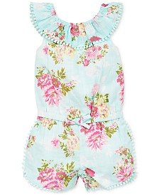 Little Me Baby Girls Floral-Print Romper