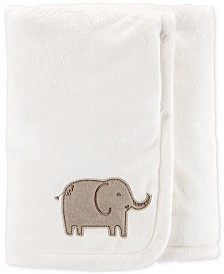 Carter's Baby Boys or Girls Plush Elephant Blanket