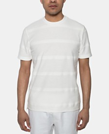 Sean John Men's Herringbone Jacquard T-Shirt