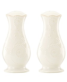 Dinnerware, French Perle Salt and Pepper Shakers