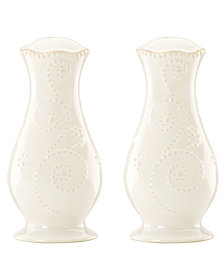 Lenox Dinnerware, French Perle Salt and Pepper Shakers