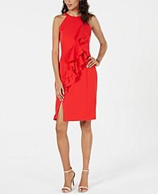 Halter Ruffle Dress