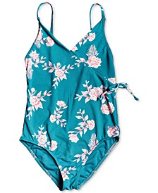 Big Girls Printed One-Piece Swimsuit