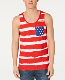 American Rag Men's Stars & Stripes Tank, Created for Macy's