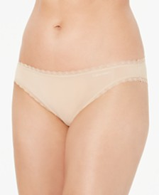 Calvin Klein Women's Lace-Trim Bikini QD3706