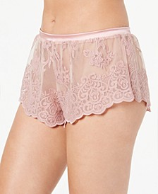 Women's Rosie Embroidered Mesh Tap Shorts ROSIN0831, Online Only