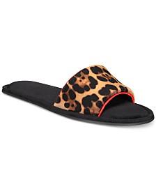 I.N.C. Velvet Printed Slide Slippers, Created for Macy's