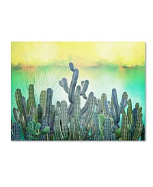 "Mark Ashkenazi 'Cactus' Canvas Art - 14"" x 19"""