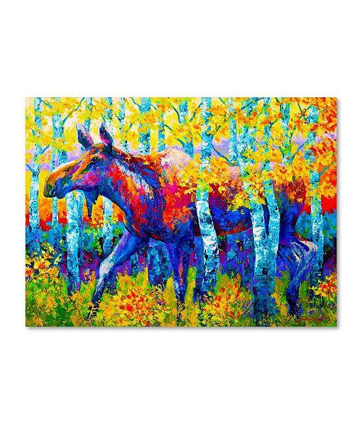 """Trademark Global Marion Rose 'Autumn Queen' Canvas Art - 14"""" x 19"""""""