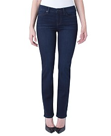 Piper Hugger Straight In Silky Soft Stretch Denim