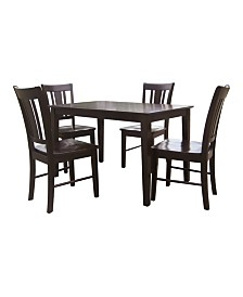 International Concepts 3048S Table With 4 Chairs