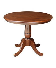 "36"" Round Top Pedestal Table - 28.9""H"
