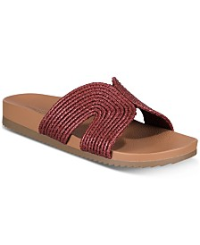Seven Dials Shelby Flat Comfort Bottom Sandals