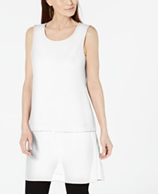 Alfani Petite Layered-Look Tunic, Created For Macy's