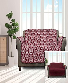 "Aime 114"" x 75"" Reversible Water-Resistant Sofa Cover"
