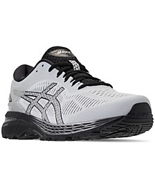 Men's GEL-Kayano 25 Wide Width Running Sneakers from Finish Line