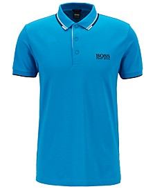 BOSS Men's Paddy Pro Regular-Fit Piqué Polo Shirt