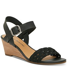 Lucky Brand Women's Jaliena Wedge Sandals