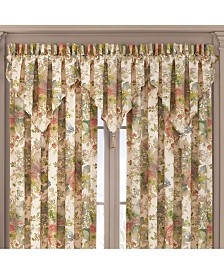 J Queen Floral Park  Window Ascot Valance