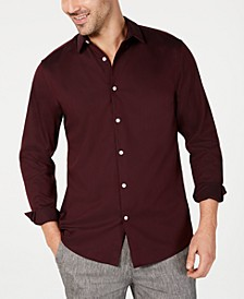 INC Men's Kurt Non-Iron Shirt, Created for Macy's