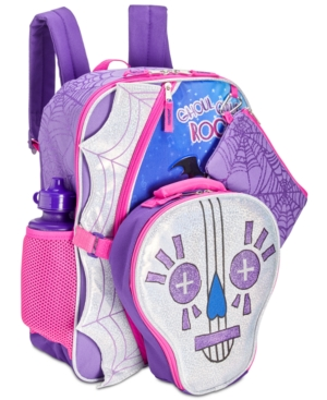 Image of Accessory Innovations Little & Big Girls 5-Pc. Vampirina Graphic Backpack Set