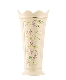 "Irish Flax 9.5"" Vase"
