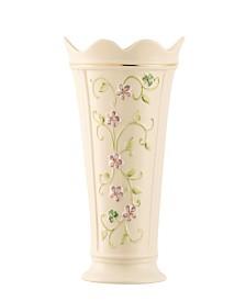 """Irish Flax 9.5"""" Vase"""