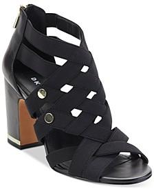 Heva Block-Heel Sandals, Created For Macy's
