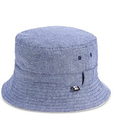 B Block Headwear Men's Reversible Chambray Hat