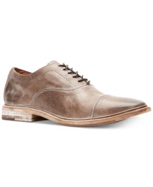 Frye Men's Paul Bal Oxfords Men's Shoes In Stone
